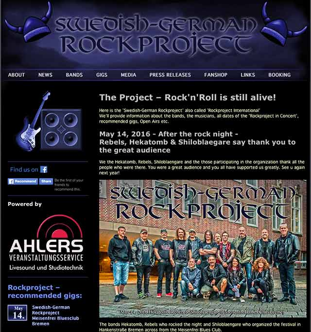 The International Rockproject
